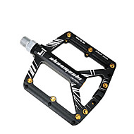 cheap -Bike Pedals Mountain Bike Pedals Flat & Platform Pedals Sealed Bearing Lightweight Anti-Slip 3 Bearing Aluminum Alloy for Cycling Bicycle Road Bike Mountain Bike MTB Road Cycling Black