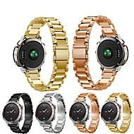 Horlogeband voor Fenix Chronos Garmin Sportband / Klassieke gesp Metaal / Roestvrij staal Polsband