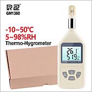povoljno -rz gm1360 profesionalni hygrothermograph higrometar termometar ručni digitalni vlažnost temperature metar