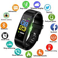 tanie -Męskie Zegarek cyfrowy Kwarc Silikon Czarny / Niebieski / Czerwony 30 m Wodoszczelny / Wodoodporny Smart Bluetooth Analog Na zewnątrz Moda - Czarny Czerwony Niebieski / Chronograf / LCD