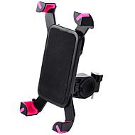 cheap -WEST BIKING® Bike Phone Mount Adjustable / Retractable Anti-Slip Universal for Road Bike Mountain Bike MTB PVC(PolyVinyl Chloride) iPhone X iPhone XS iPhone XR Cycling Bicycle Black Black / Red