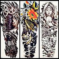 olcso -3 pcs ideiglenes tetoválás Környezetbarát / Egyszer használatos Karosszéria / brachium / vissza Kártyapapír