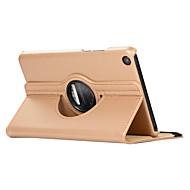 olcso -Case Kompatibilitás Xiaomi Xiaomi Tab 4 360° forgás / Ütésálló / Állvánnyal Héjtok Egyszínű Kemény PU bőr
