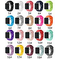 SmartWatch Band для Apple Watch серии 4/3/2/1 мода мягкий силиконовый спортивный ремешок iwatch ремешок