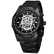 ieftine -WINNER Bărbați ceas mecanic Mecanism automat Oțel inoxidabil Negru / Auriu Ceas Casual Schelet Mare Dial Analog Schelet Modă - Auriu Negru Negru / Auriu