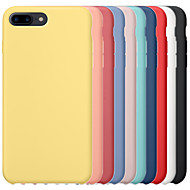 cheap -Case For Apple iPhone 6 / iPhone 6 Plus iPhone 6s iPhone7  iPhone8 iPhone7plusiPhone8plus iPhone X/ XS /XSMAS Shockproof Back Cover Solid Colored Hard PC / Silica Gel for