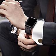 Horlogeband voor Apple Watch Series 5/4/3/2/1 Apple Klassieke gesp Echt leer Polsband