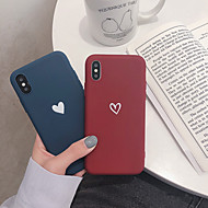 Phone Case For Apple Back Cover iPhone 12 Pro Max 11 Pro Max iPhone XR iPhone XS iPhone XS Max iPhone X iPhone 8 Plus iPhone 8 iPhone 7 Plus iPhone 7 iPhone 6s Plus Pattern Heart Soft TPU