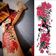 olcso -3 pcs ideiglenes tetoválás Környezetbarát / Egyszer használatos Karosszéria / brachium / Láb Kártyapapír