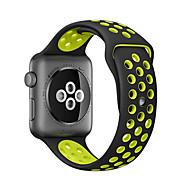 economico -cinturino per orologio serie apple 5/4/3/2/1 cinturino da polso in silicone con fibbia classica mela 38mm 40mm 42mm 44m