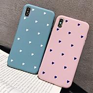 hoesje voor apple iphone xr / iphone xs max patroon achterkant hart soft tpu voor iphone x xs 8 8plus 7 7plus 6 6plus 6s 6s plus