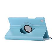 olcso -Case Kompatibilitás Huawei MediaPad MediaPad M5 8 360° forgás / Ütésálló / Állvánnyal Héjtok Egyszínű Kemény PU bőr