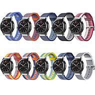 Horlogeband voor Gear S3 Frontier / Gear S3 Classic / Samsung Galaxy Watch 46 Samsung Galaxy Sportband Stof / Nylon Polsband
