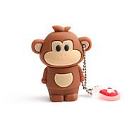 저렴한 -64gb pvc 조디악 원숭이 usb 섬광은 차를 위해 창조적 인 usb 2.0를 몹니다
