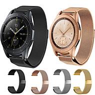 economico -Cinturino per orologio  per Samsung Galaxy Watch 46 / Samsung Galaxy Watch 42 Samsung Galaxy Cinturino a maglia milanese Acciaio inossidabile Custodia con cinturino a strappo