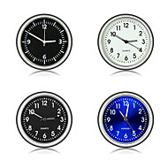 auto ornament automobiel klok auto horloge auto's interieur decoratie stick-on klok ornamenten accessoires