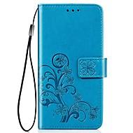 Hülle Für Apple iPhone 11 / iPhone 11 Pro / iPhone 11 Pro Max Geldbeutel / Kreditkartenfächer / Stoßresistent Ganzkörper-Gehäuse Schmetterling / Solide PU-Leder