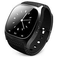 tanie -Męskie Inteligentny zegarek Cyfrowy Styl nowoczesny Sportowy Silikon 30 m Wodoszczelny / Wodoodporny Bluetooth Smart Cyfrowy Na zewnątrz Moda - Czarny Biały Niebieski