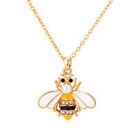 povoljno -Žene Ogrlice s privjeskom Klasičan Pčela Poslastica Umjetnički Boemski stil Krom Bijela 45 cm Ogrlice Jewelry 1pc Za Dar Ulica Praznik