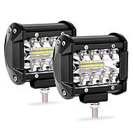 auto werk licht led-lichtbalk 2 stks 20led 60 w strip licht 4 inch schijnwerper gemodificeerde dak licht ip68