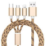 3 u 1 usb kabel za punjač za iphone x 8 7 6 5 mikro usb tip c kabela