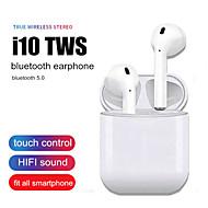 litbest i10 tws bluetooth 5.0 fülhallgató vezeték nélküli sztereó basszus fülhallgató sport fejhallgató érintőképernyős töltődobozzal az iphone xiaomi samsung