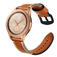 Watch Band for Gear S2 Classic / Samsung Galaxy Watch 42 Samsung Galaxy Sport Band / Classic Buckle Genuine Leather Wrist Strap