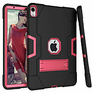 ケース 用途 Apple iPad Air / iPad 4/3/2 / iPad(2018) スタンド付き バックカバー ソリッド ハード シリカゲル / iPad (2017)