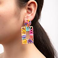 povoljno -Žene Viseće naušnice Lopta Nature Šarene Cool Naušnice Jewelry Duga Za Party Dar Rad 1 par