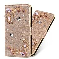 저렴한 -삼성 갤럭시 A51 / M40S / A71 지갑 / 충격 방지 나비 다이아몬드 반짝이 PU 가죽 케이스 삼성 S20 플러스 / S20 울트라 / A20E / A50S / A30S / A10 / A60 / A70 / A80 / S10 라이트 / S10 5G / S10 플러스 / 노트 10 플러스