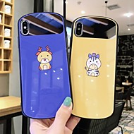 voordelige -hoesje Voor Apple iPhone XS / iPhone XR / iPhone XS Max Ultradun Achterkant dier / Cartoon TPU