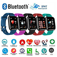 povoljno -d13 smartwatch bt fitness tracker podrška obavijesti / mjerenje krvnog tlaka sport pametni sat za samsung / iphone / android telefone