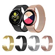 economico -Cinturino per orologio  per Gear Sport / Gear S2 / Samsung Galaxy Watch 42 Samsung Galaxy Cinturino sportivo / Cinturino a maglia milanese Acciaio inossidabile Custodia con cinturino a strappo