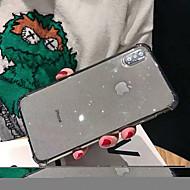 voordelige -hoesje Voor Apple iPhone XS / iPhone XR / iPhone XS Max Schokbestendig / Glitterglans Achterkant Glitterglans TPU