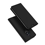 povoljno -Θήκη Za Motorola Moto G7 napajanje Utor za kartice / sa stalkom / Zaokret Korice Jednobojni PU koža / TPU