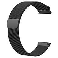 Urrem for Fitbit Versa Fitbit Milanesisk rem Rustfrit stål Håndledsrem