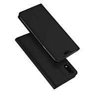 povoljno -Θήκη Za Apple iPhone XR Utor za kartice / sa stalkom / Zaokret Korice Jednobojni PU koža / TPU