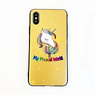 voordelige -hoesje Voor Apple iPhone XS / iPhone XR / iPhone XS Max Ultradun / Patroon Achterkant dier / Cartoon PU-nahka / TPU