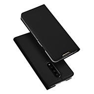 povoljno -Θήκη Za OnePlus Oneplus 7 Utor za kartice / sa stalkom / Zaokret Korice Jednobojni PU koža / TPU