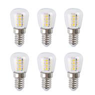 6шт 3 W Круглые LED лампы 300 lm E14 26 Светодиодные бусины SMD 2835 Тёплый белый Белый 220-240 V