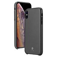 povoljno -futrola za jabuke iphone xs / iphone xr / iphone xs max ultra tanka stražnja navlaka u punoj boji pu kože