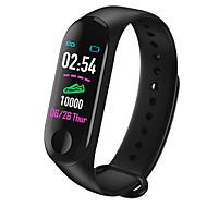 tanie -Inteligentny zegarek Cyfrowy Styl nowoczesny Sportowy Silikon 30 m Wodoszczelny / Wodoodporny Pulsometry Bluetooth Cyfrowy Casual Na zewnątrz - Czarny Czerwony Niebieski