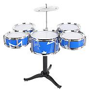 Χαμηλού Κόστους -Σετ ντραμς Μουσικό παιχνίδι Εκπαιδευτικό παιχνίδι Σετ ντραμς Jazz Drum Προσομοίωση Αγορίστικα Κοριτσίστικα Παιδικά Παιχνίδια Δώρο