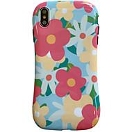 voordelige -hoesje Voor Apple iPhone XS / iPhone XR / iPhone XS Max Schokbestendig / Patroon Achterkant Geometrisch patroon / dier / Bloem TPU