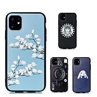 voordelige -hoesje voor Apple iPhone XR iPhone XS Max telefoonhoes TPU materiaal reliëf geverfde telefoonhoes voor iPhone 6 6 plus 6s 6s plus x xs 7 plus 8 plus 7 8