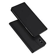 povoljno -Θήκη Za Apple iPhone XS Max Utor za kartice / sa stalkom / Zaokret Korice Jednobojni PU koža / TPU
