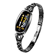 tanie -Damskie Inteligentny zegarek Cyfrowy Styl nowoczesny Sportowy 30 m Wodoszczelny / Wodoodporny Pulsometry Bluetooth Cyfrowy Casual Na zewnątrz - Czarny Złoty Srebrny