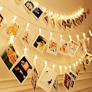 رخيصةأون -Brelong ماء led سلسلة 3 متر 30 led مقاطع البطارية بالطاقة الجنية وميض حفل زفاف عيد الميلاد ديكور المنزل أضواء لتعليق الصور بطاقات الفني