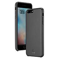 povoljno -futrola za jabuke iphone 8 plus / iphone 8 / iphone 7 plus / iphone 7 / iphone 6 plus ultra tanka stražnja navlaka u punoj boji pu kože