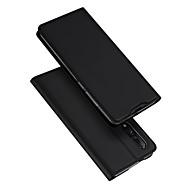 povoljno -Θήκη Za Xiaomi Xiaomi Mi 9 Utor za kartice / sa stalkom / Zaokret Korice Jednobojni PU koža / TPU